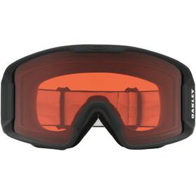 Oakley Line Miner XM Occhiali da neve, nero/rosso
